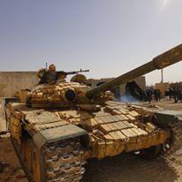 Άρμα μάχης της οργάνωσης «Qalamoun Shield»