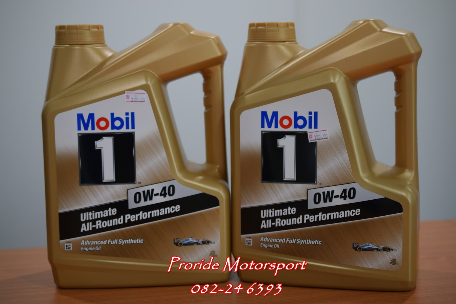 pro ride motorsports mobil1 0w 40 advanced full synthetic. Black Bedroom Furniture Sets. Home Design Ideas