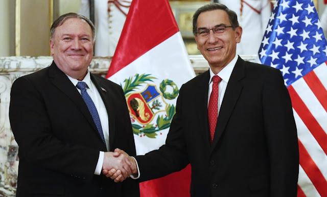 Mike Pompeo felicita al Perú por recibir a más de 700,000 venezolanos