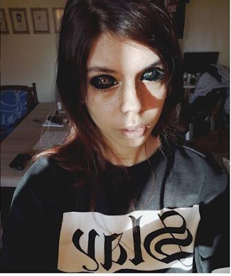 Photos: Model Goes Blind After Getting Her Eyeballs Dyed Black
