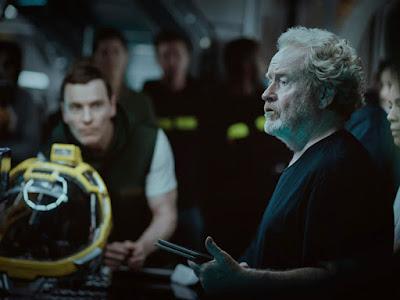 Primera imagen de Michael Fassbender en 'Alien: Covenant'