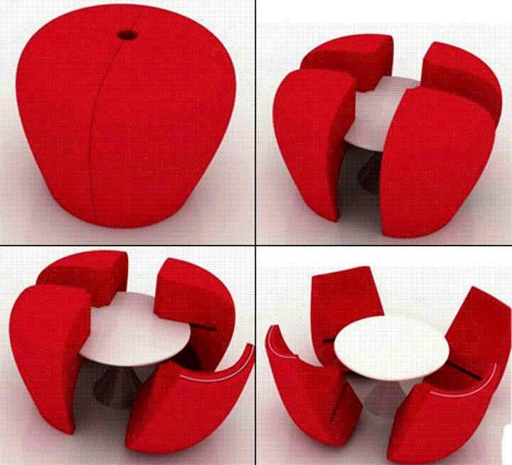 Kali Ini Kembali Dengan Rekaan Kreatif Kerusi Dan Meja Yang Sesuai Untuk Dekorasi Menarik Di Ruang Tamu