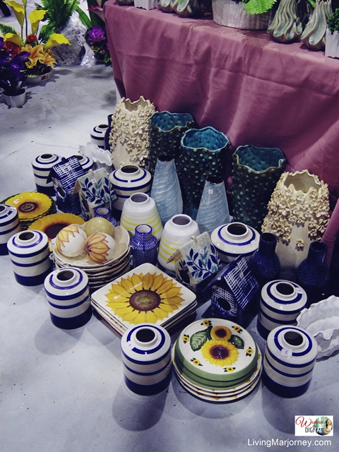Vases at Little Dapitan