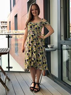 Floral Viscose Kew Dress