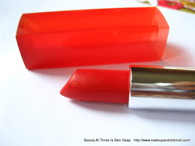 Maybelline Rebel Bouquet Lipstick REB 01  review