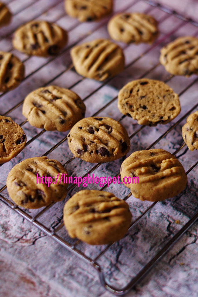 Teratak Mutiara Kasih Biskut Coklat Chips Rangup Sedap Dan Resepi Mudah Tak Guna Mixer