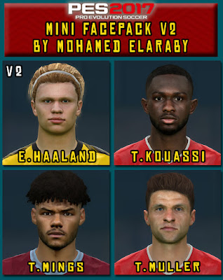 PES 2017 Mini Facepack V2 by M. Elaraby
