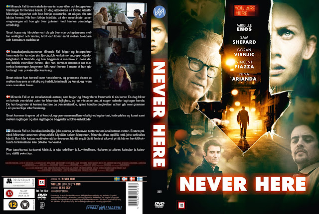 Never Here [NORDIC] DVD Cover