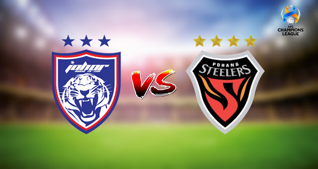 Live Streaming JDT FC vs Pohang Steelers 1.7.2021 ACL