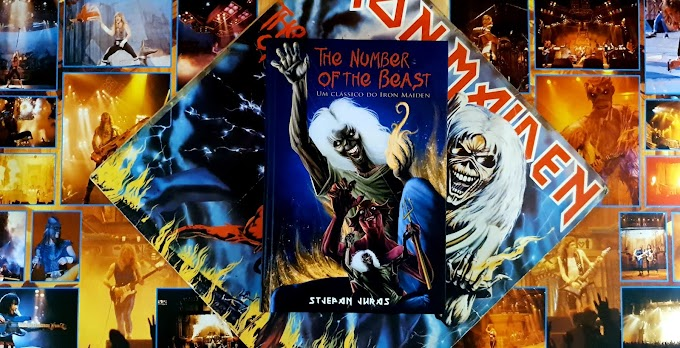 [RESENHA #792] THE NUMBER OF THE BEAST | UM CLÁSSICO DO IRON MAIDEN - STJEPAN JURAS