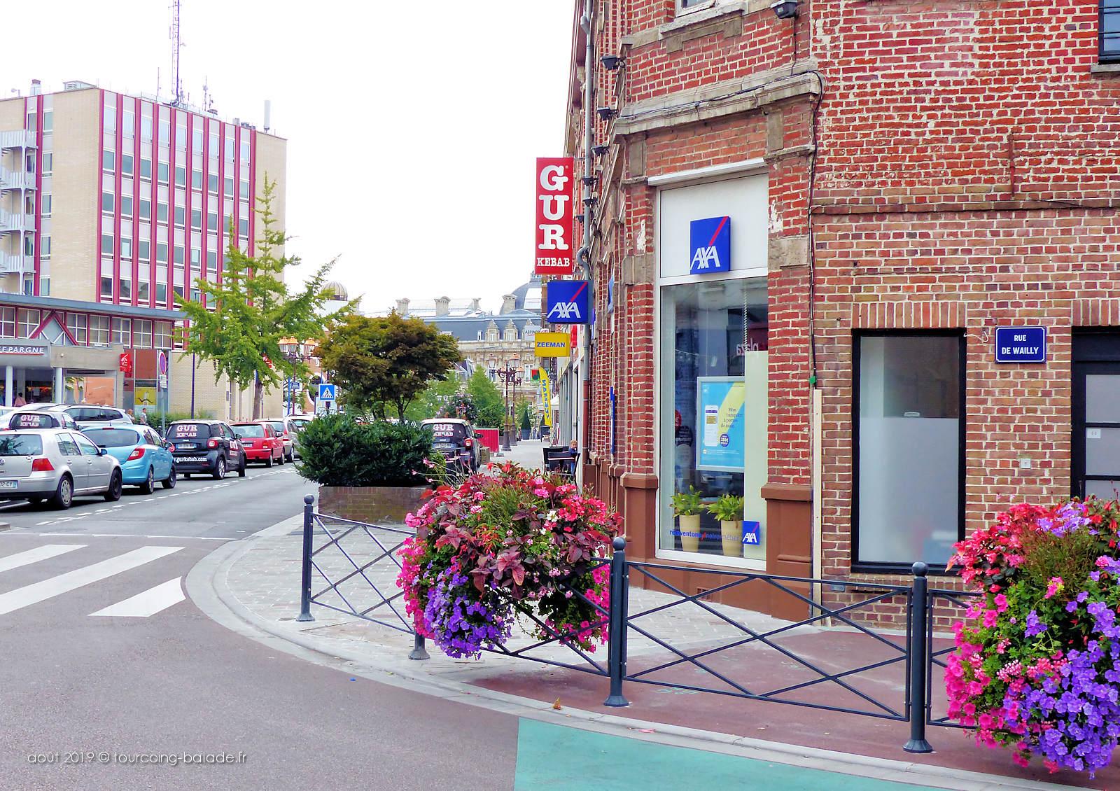 Tourcoing Centre - Angle Rue nationale et rue de Wailly