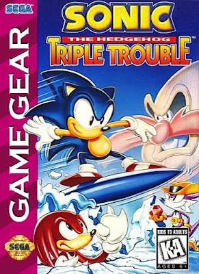 Jogo Sonic The Hedgehog Triple Trouble Game Gear