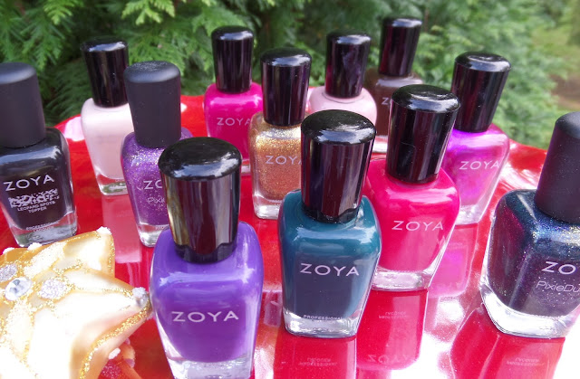 zoya jubilee holiday collection 2018