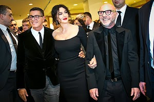 beauty Korner: Monica Bellucci in Moscow