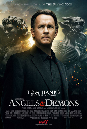 Angels and Demons 2009 Dual Audio ORG Hindi 480p BluRay 450MB ESubs poster