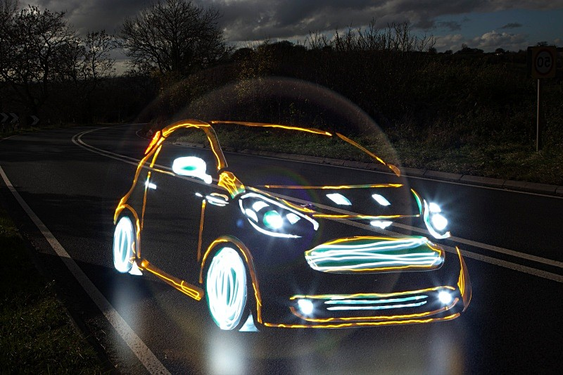 Led Lights For Cars >> If It's Hip, It's Here (Archives): Supercars Painted With ...