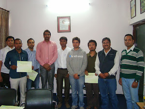 CERTIFICATE DISTRIBUTION ON ORGANIC TRAINING  FARMING