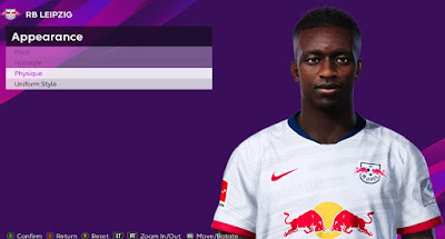 PES 2020 Faces Amadou Haidara by Rachmad ABs