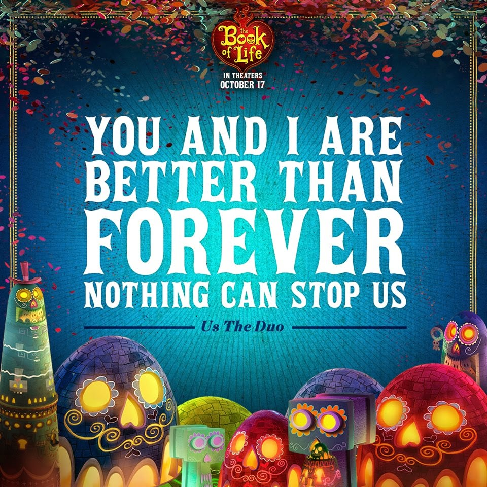 the book of life soundtracks-us the duo-no matter where you are