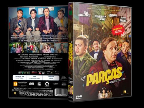 Capa DVD Os Parças [Custom]