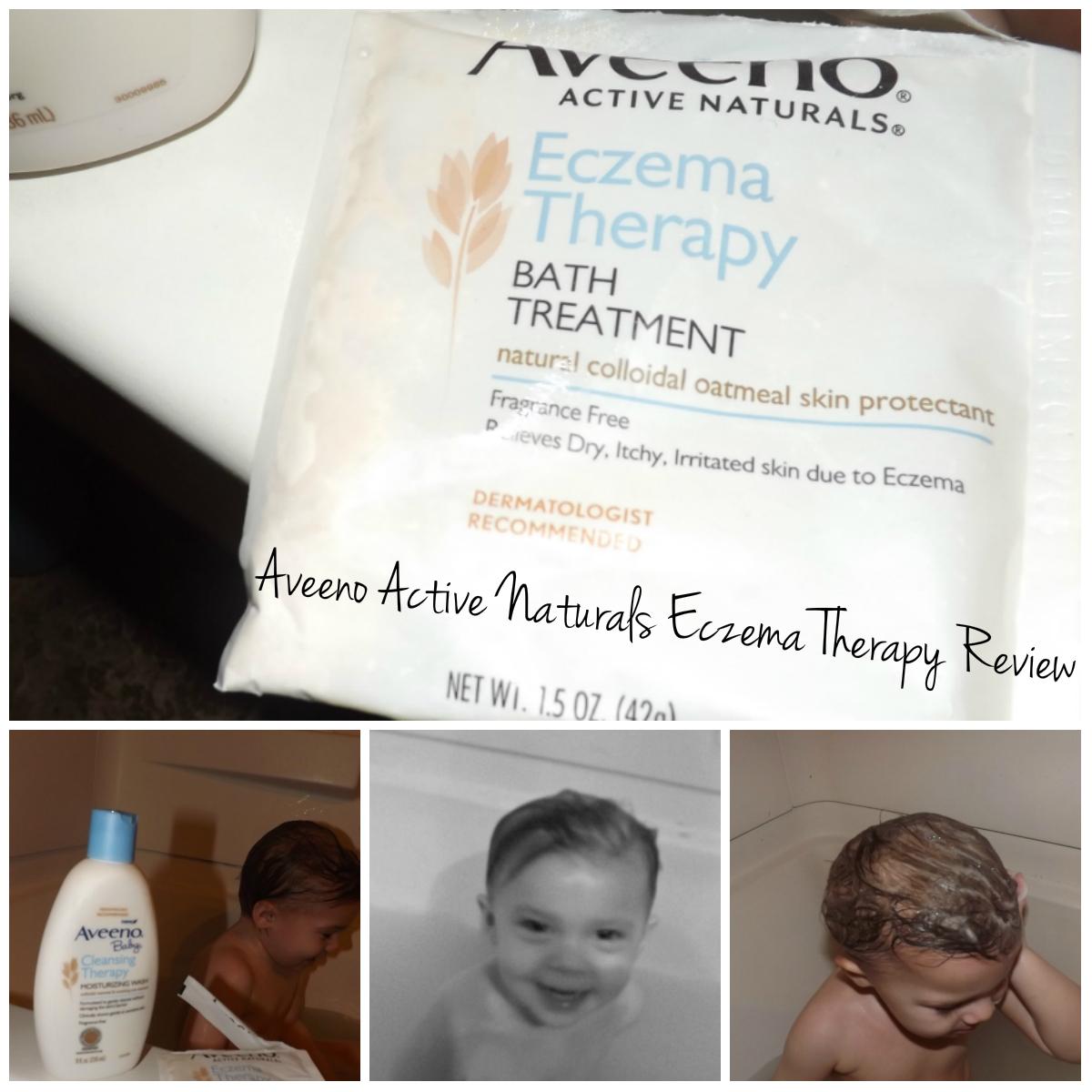 Life According To GreenVics: Aveeno Baby Eczema Therapy Bath