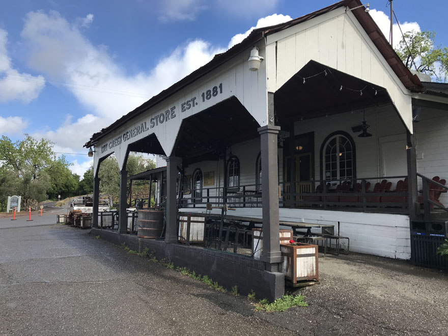 Front of Dry Creek General Store