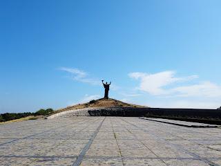 Черкассы. Холм Славы. Монумент «Родина-мать»