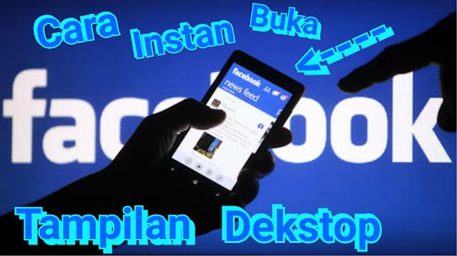 Cara login facebook di hp tampilan dekstop