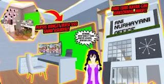 ID Kantor & Studio Ani Nur Hayati Di Sakura School Simulator Cek Disini