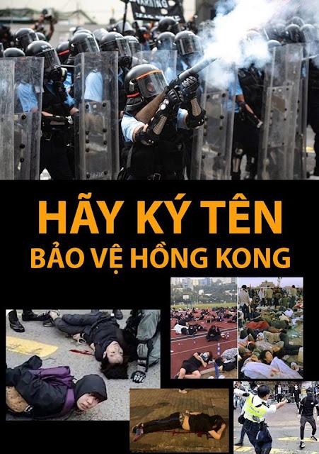 Chúng ta có thể làm gì cho người dân Hồng Kông