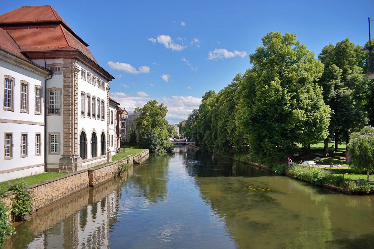 Esslingen und der Neckarkanal