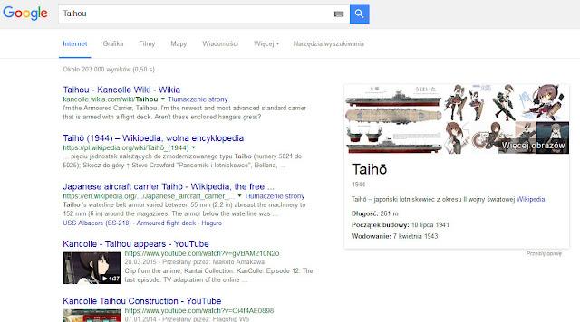 Taihou w Google