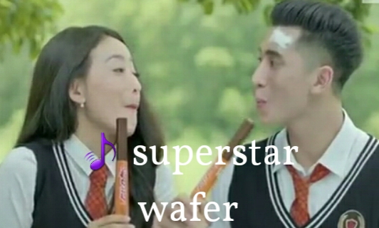 Judul Lagu Iklan Wafer Superstar (Natasha Wilona & Verrell Bramasta)