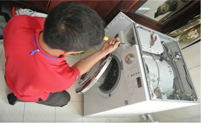 Sửa máy giặt tại nhà hết bao nhiêu tiền, có đắt không?