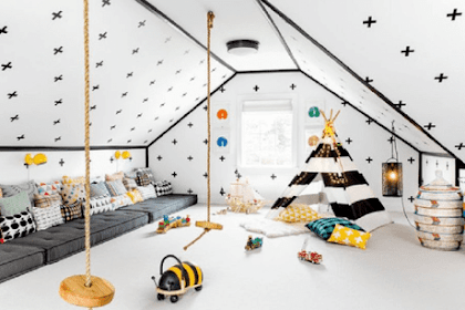 Kids Playroom Ideas: How to Arrange and Decorate