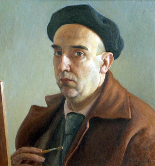 Francisco Pérez Dolz, Autorretrato de Francisco Pérez Dolz, Pintores Valencianos, Pintors en la Comunitat Valenciana, Galeria d'autoretrats, Autorretratos, Pintor Valenciano