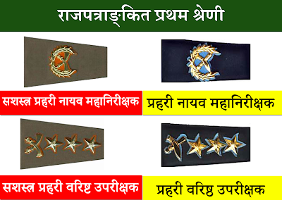Nepal Police and Armed Police Force Rank Comparison