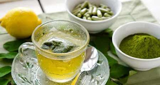 cara membuat teh daun kelor