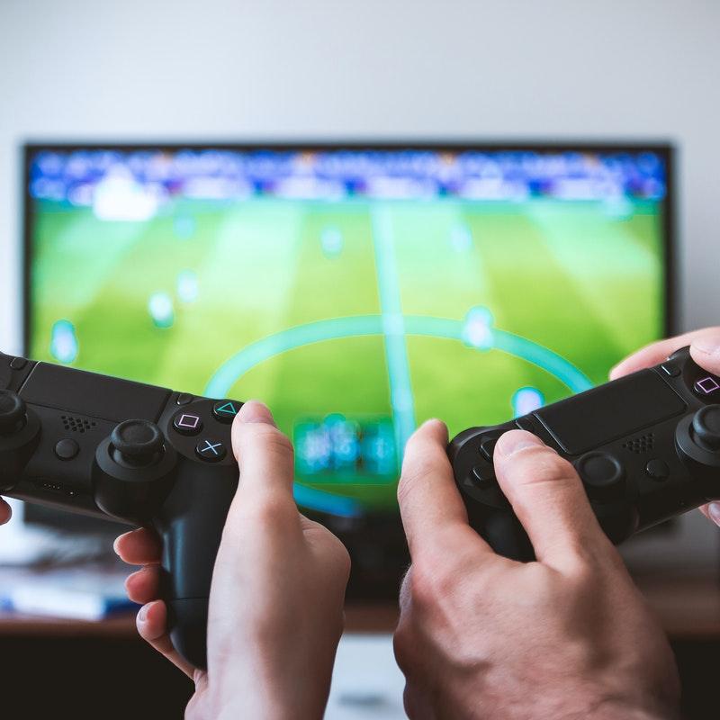 Ilustrasi konsol game