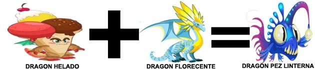 como sacar el dragon pez linterna en dragon city combinacion 3