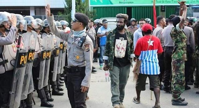Patroli Aparat Gabungan di Papua Membuat Trauma