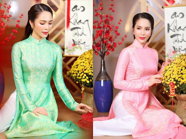 Dương Kim Ánh khoe sắc ngọt ngào trong bộ ảnh đón Xuân Tân Sửu 2021