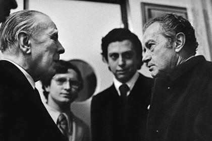 Calibán: EL DIÁLOGO DE JORGE LUIS BORGES Y JUAN RULFO