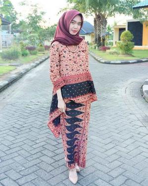 baju batik couple 2019
