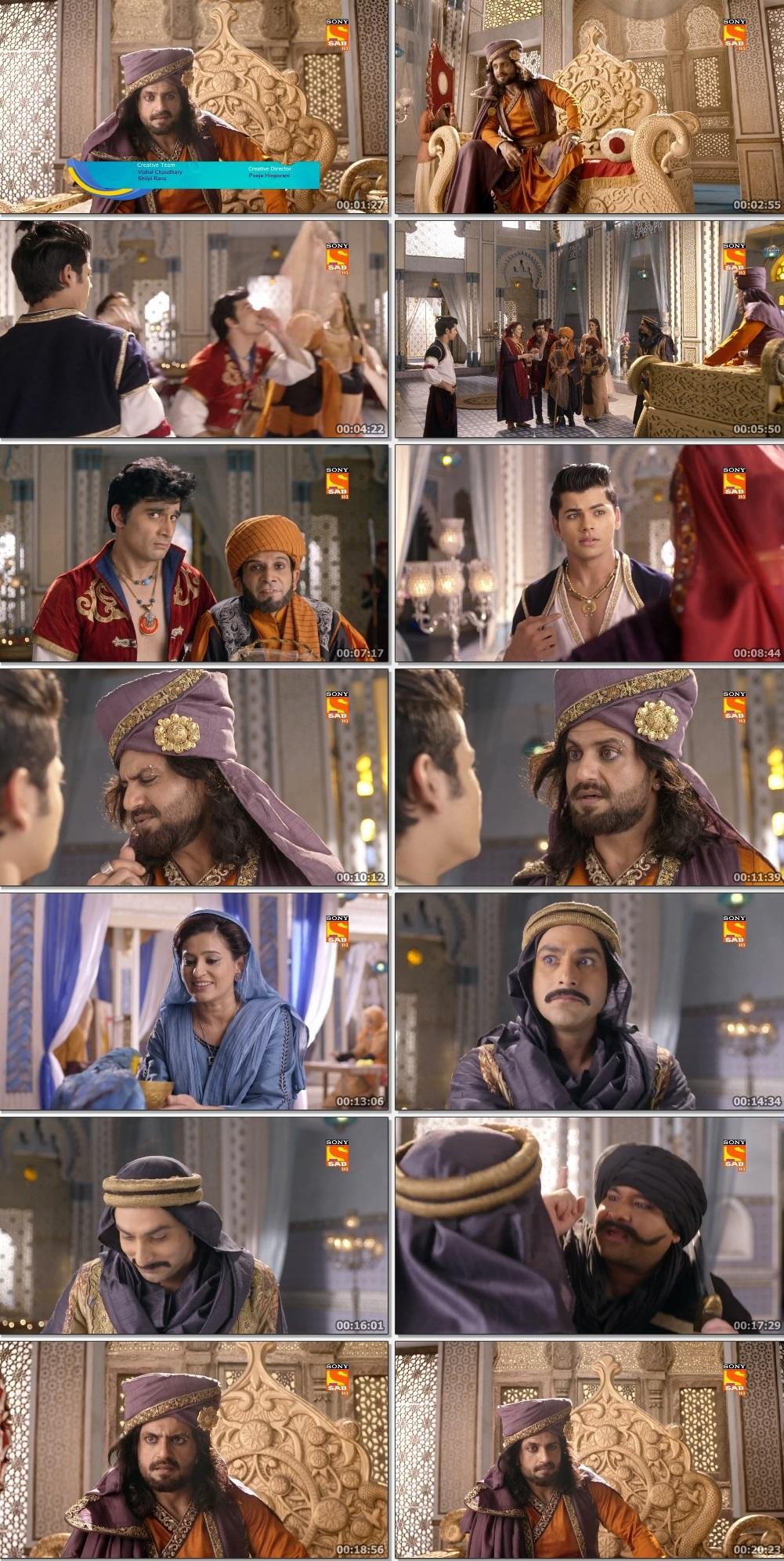 Screenshots Of Hindi Show Aladdin – Naam Toh Suna Hoga 2019 Episode 221 300MB 720P HD