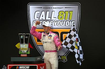 Cindric Grabs Second 2021 Win #NASCAR