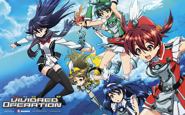 Vividred Operation Anime Superhero