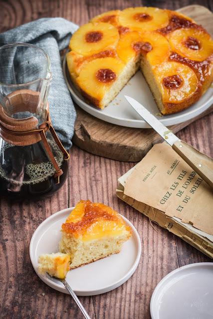 Gâteau renversé à l'ananas, recette simple et rapide