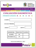 Exámenes de Diagnostico para Primaria