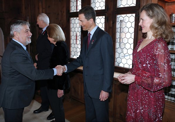 Prince Hans-Adam, Princess Marie, Hereditary Prince Alois and Hereditary Princess Sophie of Liechtenstein